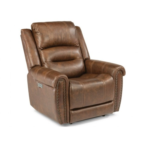 Oscar Power Recliner with Power Headrest and Lumbar Support
