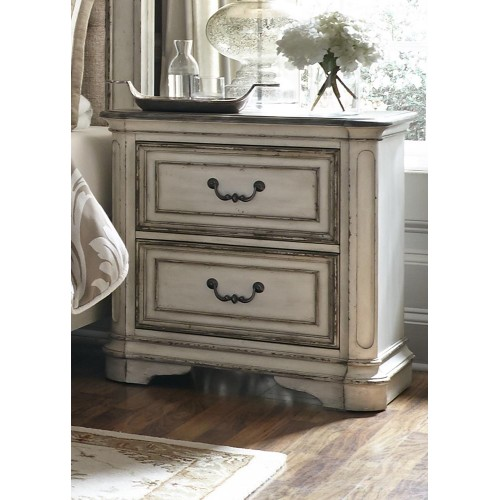 Magnolia Manor 2 Drawer Night Stand