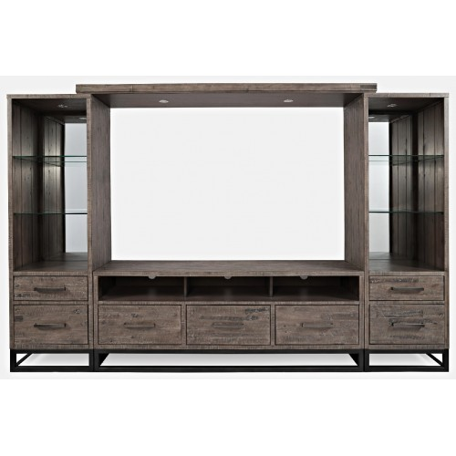 East Hampton Entertainment Wall