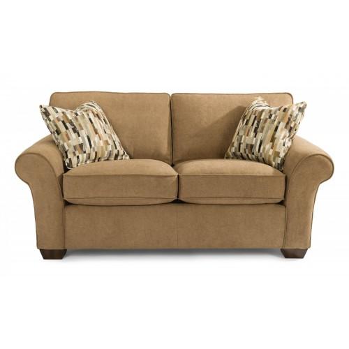 Flexsteel Vail Sofa Price: Vail Fabric Three-Cushion Sofa
