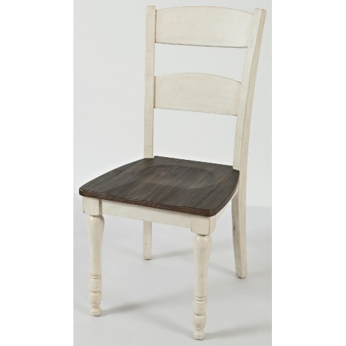 Madison County 2 Tone Ladderback Dining Chair