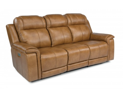 KINGSLEY POWER RECLINING SOFA WITH POWER HEADREST