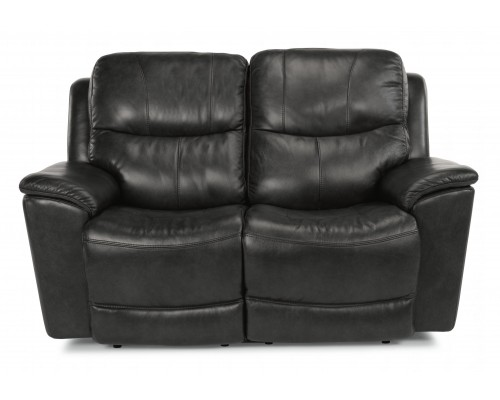 CADE POWER RECLINING LOVESEAT WITH POWER HEADREST AND CONSOLE
