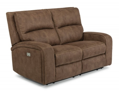 Nirvana Power Reclining Loveseat with Power Headrests