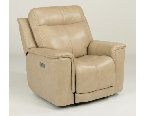 Miller Power Recliner with Power Headrest and Adjustable Lumbar