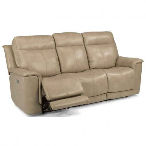 Miller Power Reclining Sofa with Power Headrests and Adjustable Lumbar