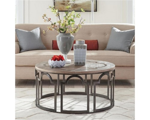ESTELLE ROUND COCKTAIL TABLE
