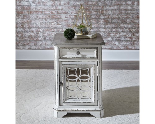 MAGNOLIA MANOR CHAIR SIDE TABLE