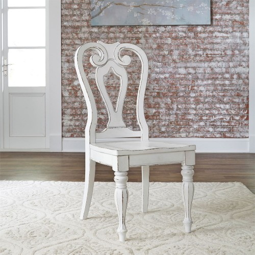 MAGNOLIA MANOR SPLAT BACK SIDE CHAIR