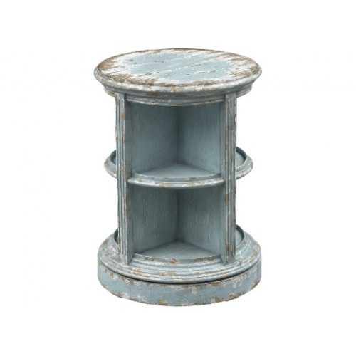 Cottage Swivel Accent Table