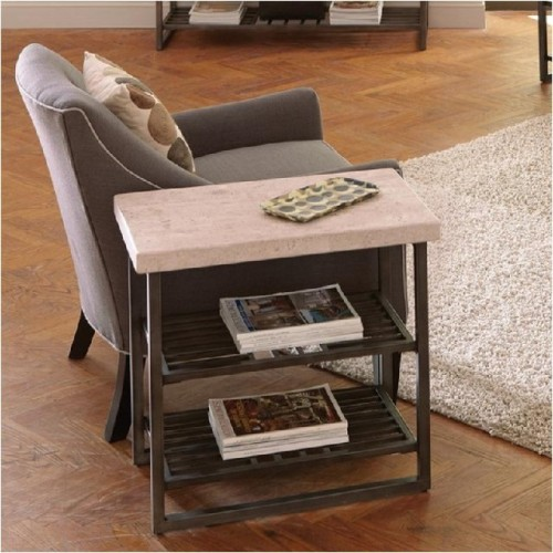 CAPRI CHAIR SIDE TABLE