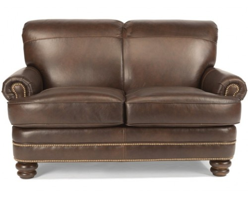 Bay Bridge Leather Loveseat