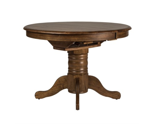 CAROLINA CROSSING PEDESTAL TABLE