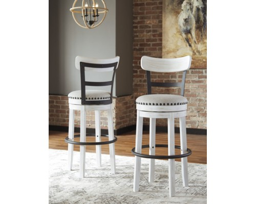 Valebeck WHITE BAR STOOL