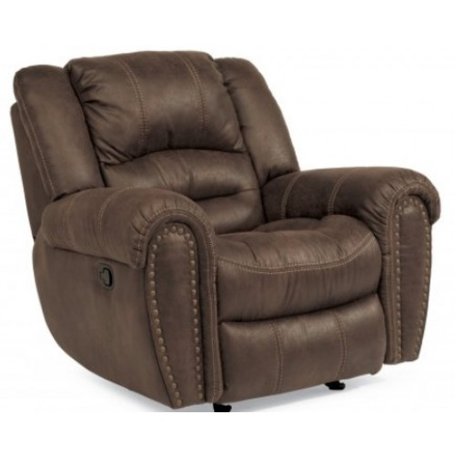 Town Fabric Gliding Recliner