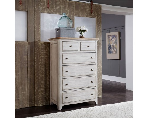 FARMHOUSE REIMAGINED 5 DRAWER CHEST