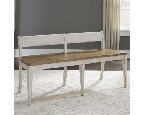 FARMHOUSE REIMAGINED DINING BENCH