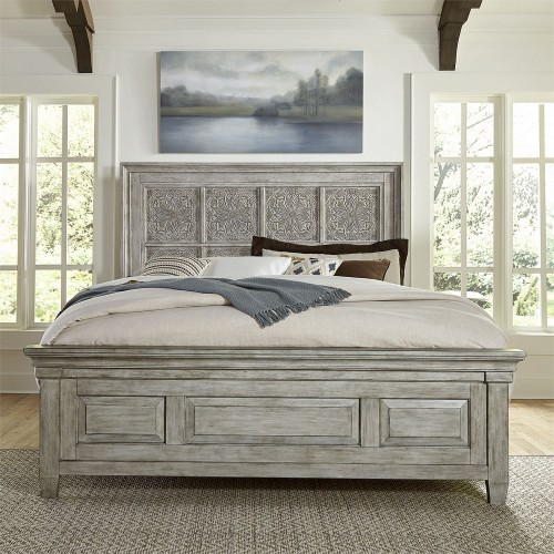 Heartland CARVED BED