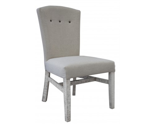 BONAZA IVORY UPHOLSTERED DINING CHAIR