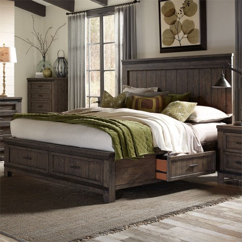 THORNWOOD HILLS TWO SIDED STORAGE BED