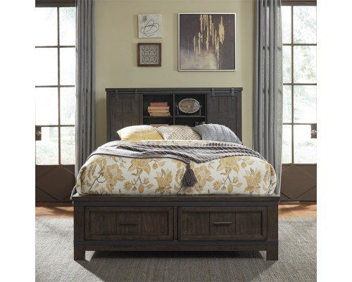 THORNWOOD HILLS BOOKCASE BED