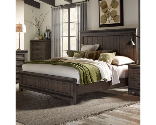 THORNWOOD HILLS PANEL BED