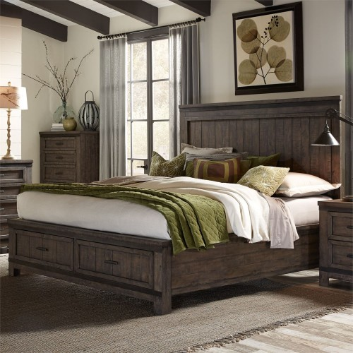 THORNWOOD HILLS STORAGE BED