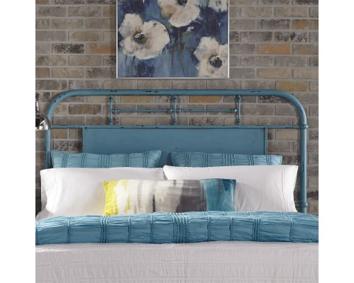 VINTAGE SERIES BLUE HEADBOARD