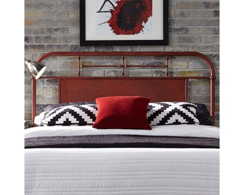 VINTAGE SERIES RED HEADBOARD