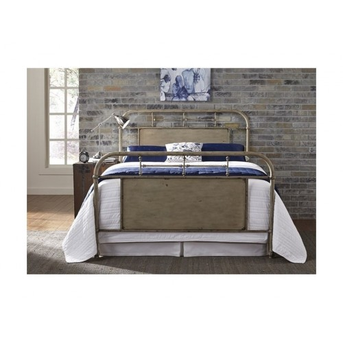 VINTAGE SERIES VINTAGE CREAM METAL BED