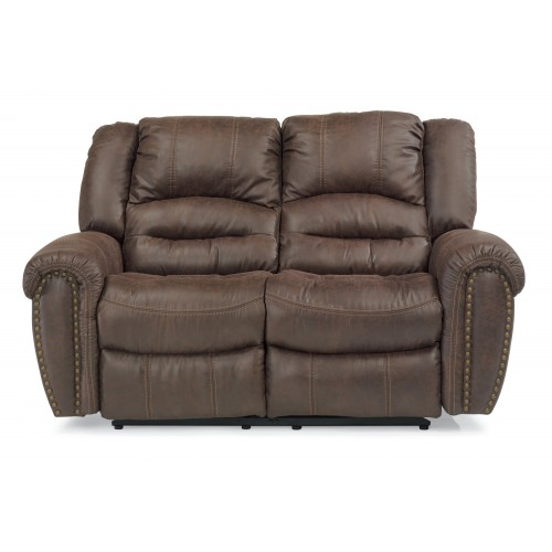 Town Fabric Reclining Loveseat