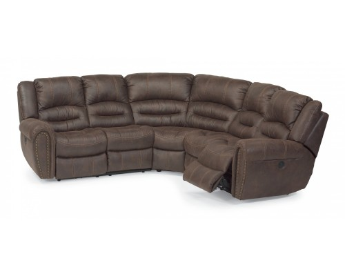 Town Fabric Power Reclining Sectional